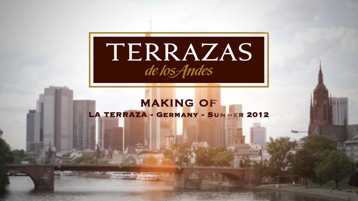 Terrazas De Los Andes Making Of Bewegtbild